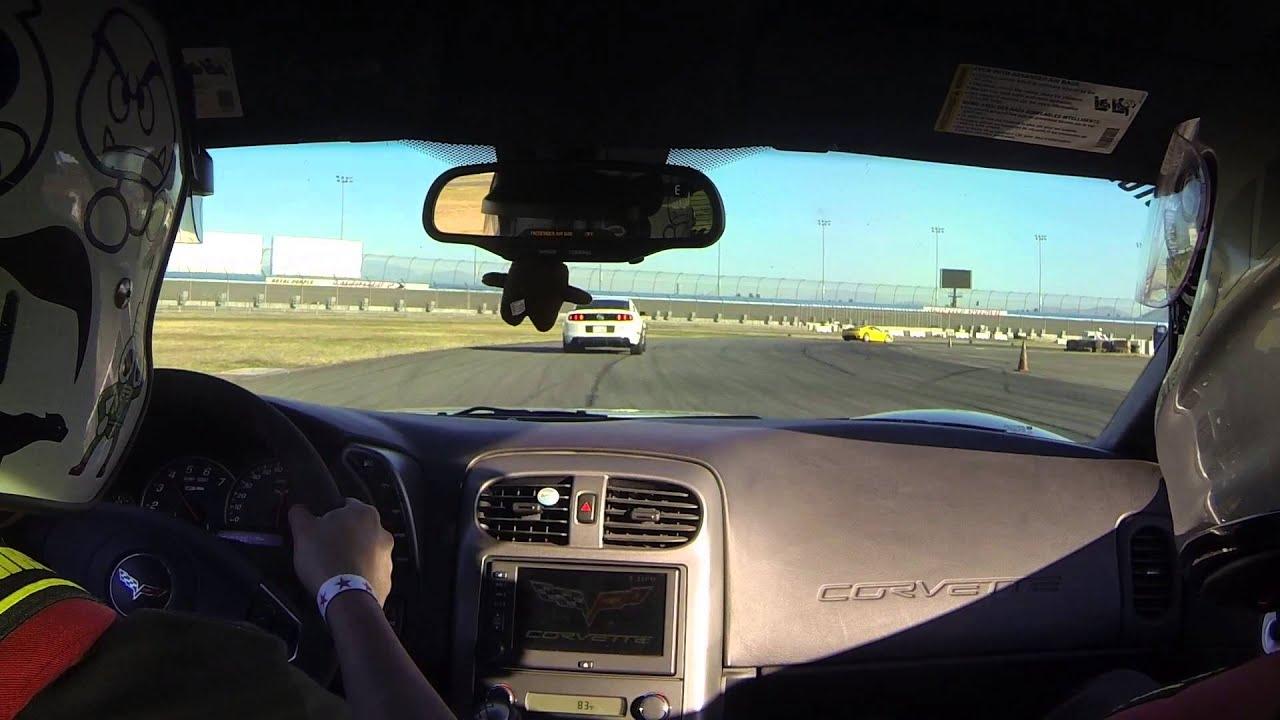 Corvette Z06 Track Day In Car - YouTube