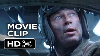Fury Movie CLIP - Move Out (2014) - Brad Pitt War Drama Movie HD