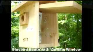 Bird Houses - Nesting Boxes