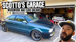 "Scotto's Garage of Distractions: Audi Gets ""worked on"" + Shop Mods"