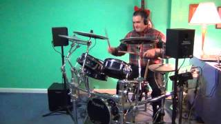 """Jesus Take The Wheel"" - Carrie Underwood drum cover - Roland TD-30KV"