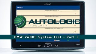 BMW VANOS System Test - Part 2