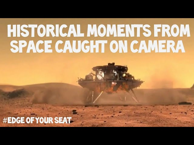 Flat Earth: Historical moments from space caught on camera