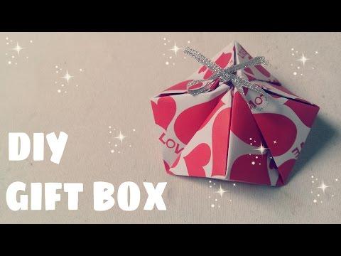 DIY - Cách làm hộp quà bằng giấy