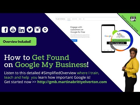 How to Get Found on Google with Google Reviews and Martina Britt Yelverton
