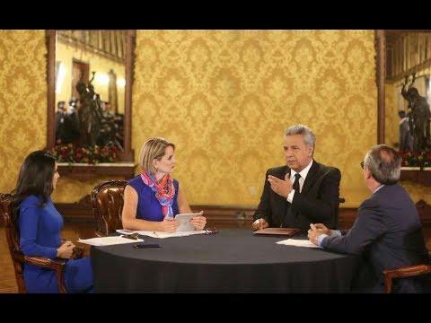 Ecuador Nuevo Rumbo - diálogo con el presidente Lenín Moreno