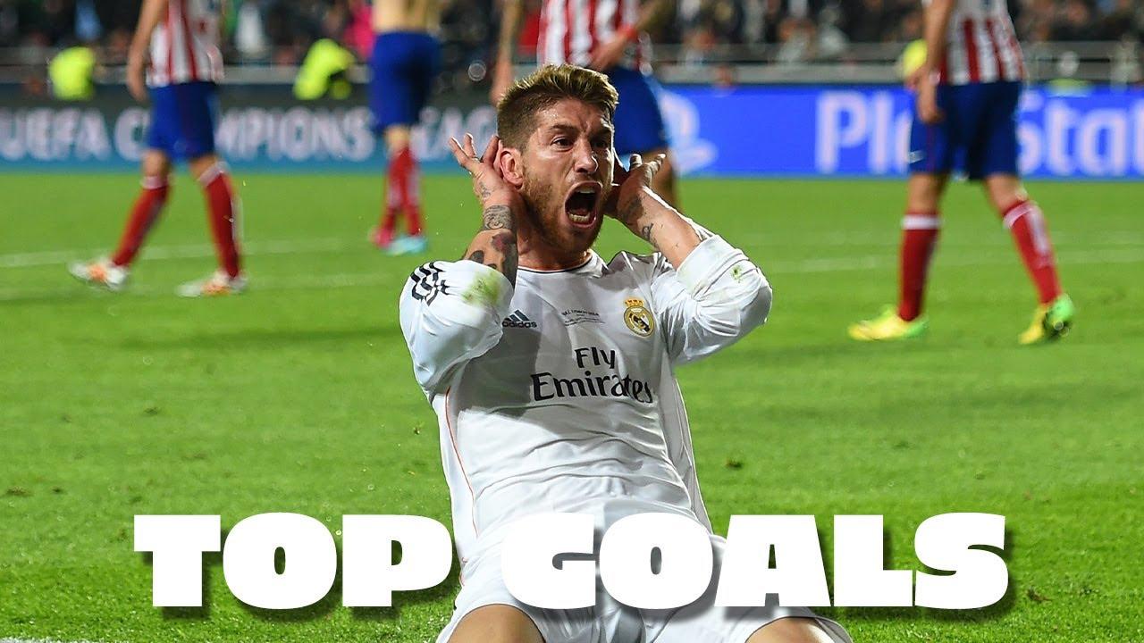 Sergio Ramos AMAZING Real Madrid GOALS!