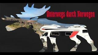 Mit dem Wohnmobil durch Norwegen: Skandinavien Rundreise 2016 Teil 2