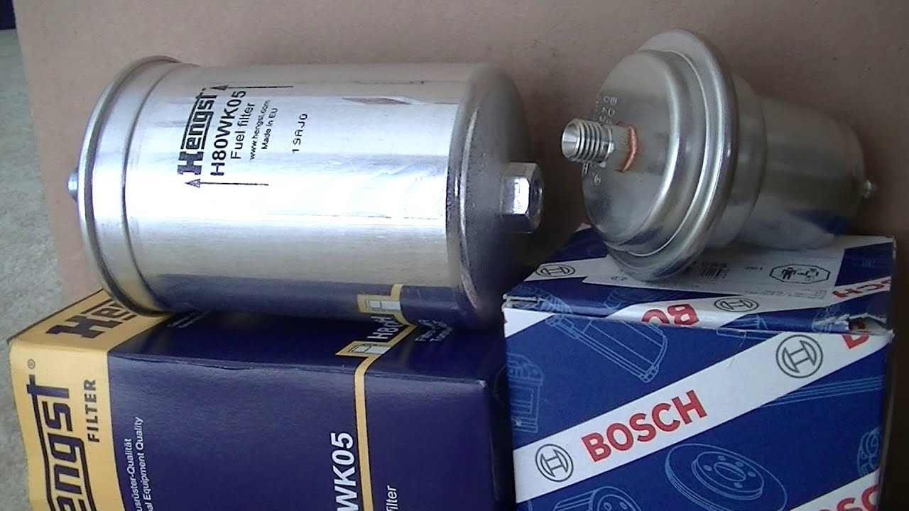w124 fuel filter and accumulator replacement [ 1280 x 720 Pixel ]