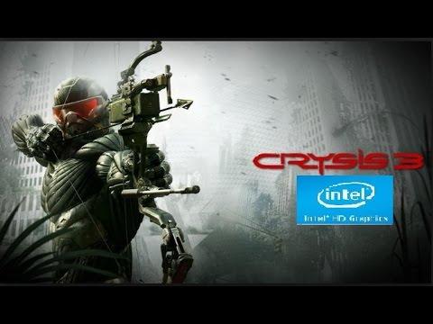 Crysis 3 ON Intel HD Graphics 4400 |