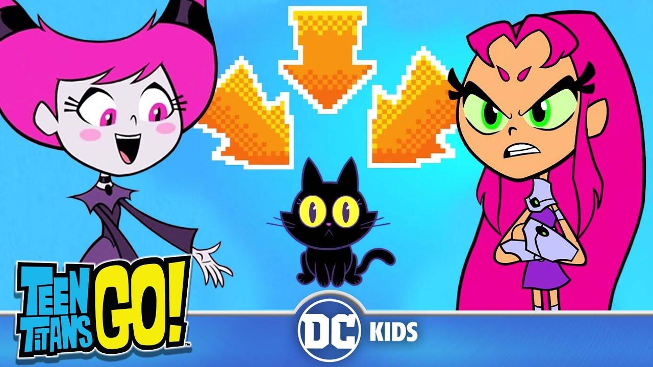 Teen Titans Go Black Cat Luck Dc Kids Youtube