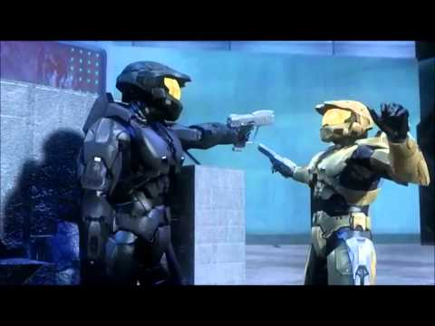 Red vs. Blue Dubstep Action Montage (E.T. Klaypex Remix)