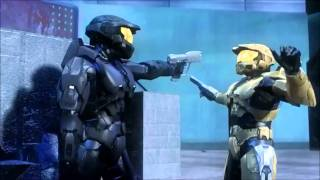 Repeat youtube video Red vs. Blue Dubstep Action Montage (E.T. Klaypex Remix)