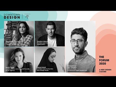 A New Design Culture – Downtown Design 2020