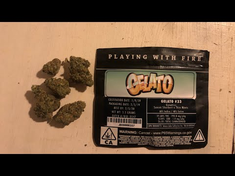 Gelato by Jungle Boys (Strain Review #1) (Cali Weed)