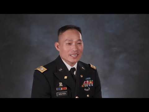 U.S. Army Lt. Col. Vinnie Nguyen