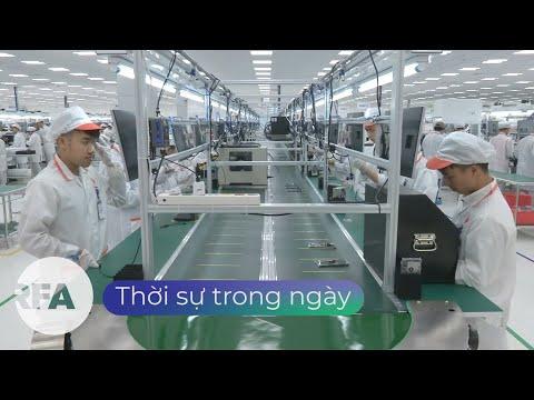 Công nhân Apple và Samsung tại Việt Nam ở lại nhà máy trong mùa dịch.