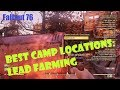 [Fallout 76] Best C.A.M.P. Locations: Lead Farming!