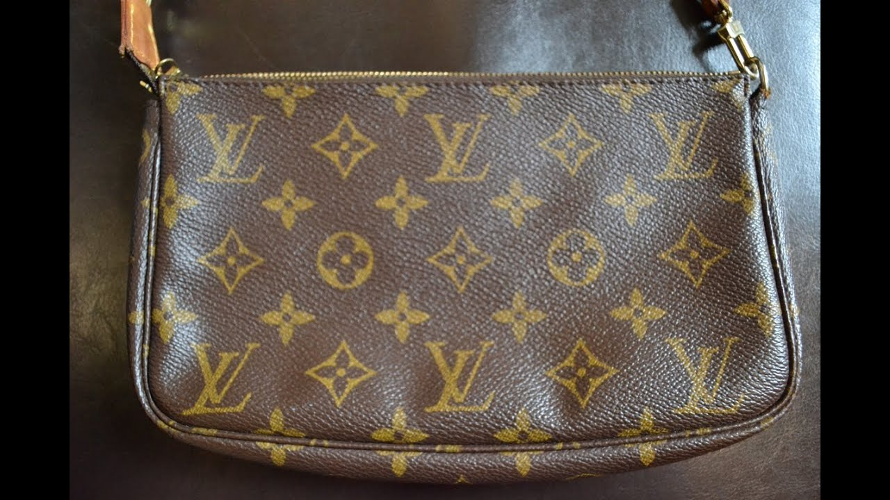 666b33023cee How To Tell If Your Louis Vuitton Pochette is Authentic - YouTube