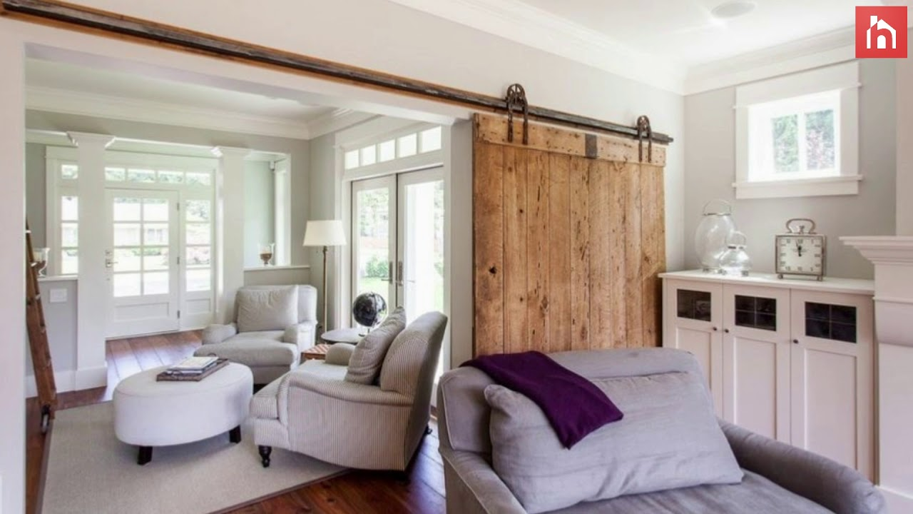 Ways To Use Interior Sliding Barn Doors