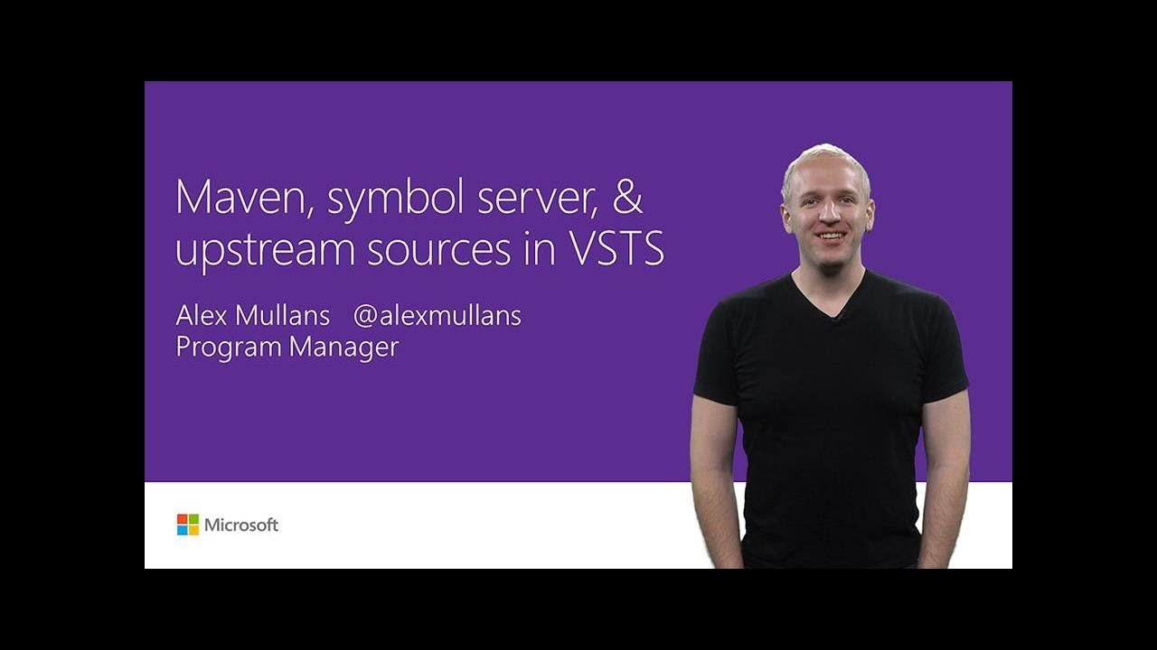 Maven Symbol Server And Upstream Sources In Vsts T180 Youtube