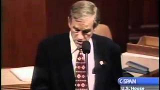 Ron Paul Predicts Housing Bubble/ $2000k Gold In 2001!