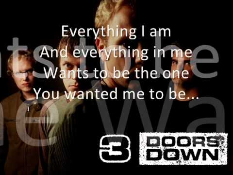 Lyrics for When I'm Gone by 3 Doors Down - Songfacts