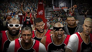 NBA2K13 MyCAREER: Celebrity AllStar Game | Feat Rick Ross, LiL