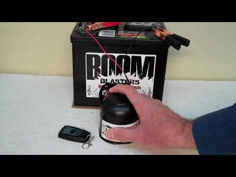 Game Show Loser Sounds Car Horn Wireless