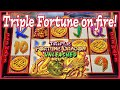Epic Triple Fortune Dragon 5 Symbol Retrigger! Wait Till You See the Total Win Amount!😎