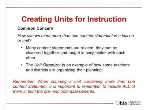 Ohio's Social Studies Standards and Model Curriculum