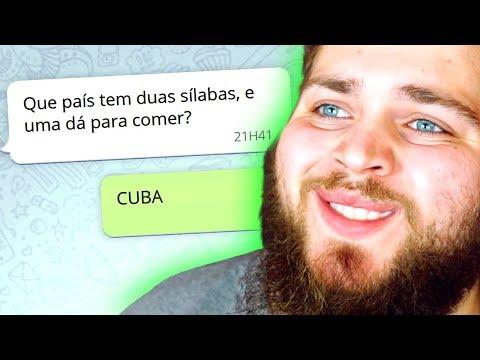 TENTA NÃO RIR  - CONVERSAS ENGRAÇADAS