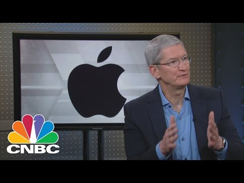 Apple CEO Tim Cook: Optimism For The Future | Mad Money | CN