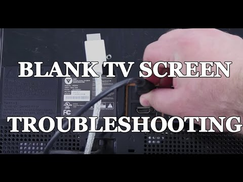TV with Black Blank Screen Repair How to Troubleshoot Symptoms for a Faster  Repair