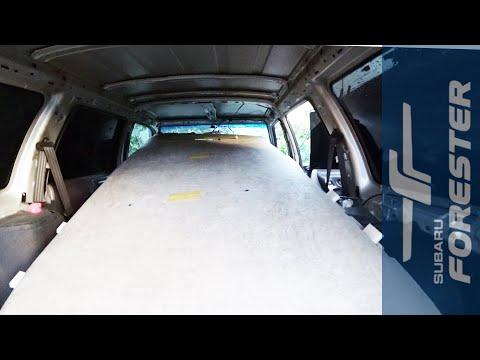Разбираем весь салон Subaru Forester SF