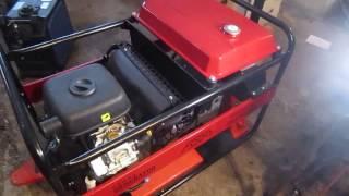 видео Бензиновый генератор SDMO TECHNIC 7500 TE AVR M в контейнере с АВР