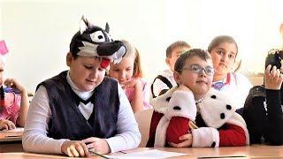 В Покачах организовали костюмированные уроки по сказкам