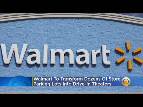 Walmart To Transform Dozens Of Store Parking Lots Into Drive-In Theaters