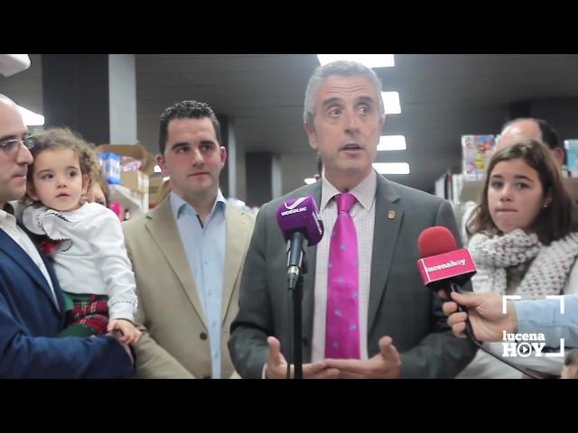 VÍDEO: Estuvimos en la inauguración del nuevo supermercado EROSKI-Lucena