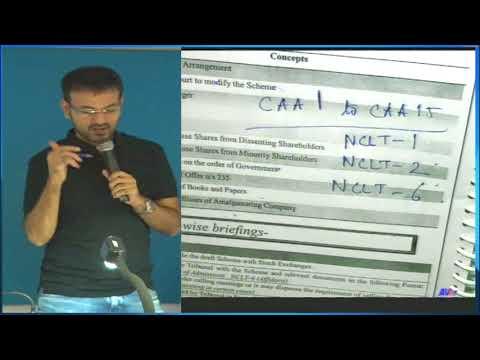 Amit Bachhawat - Compromise Arrangement 1st class for CA & CMA Final, CS