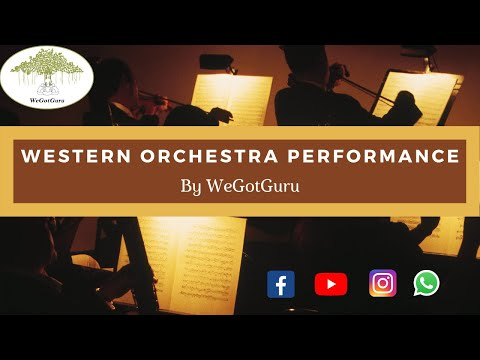 Western Orchestra Conducted by Surajit Mitra performing Greensleeves