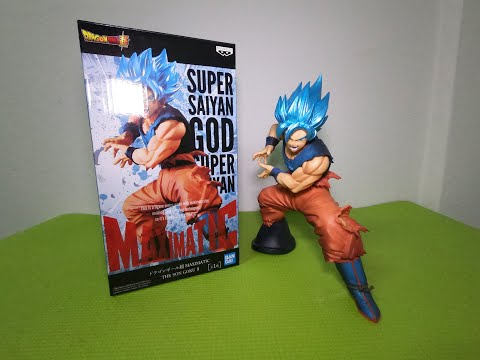 Dragon Balle Super Maximatic The Son Goku II Ssgss Goku Figurine Banpresto