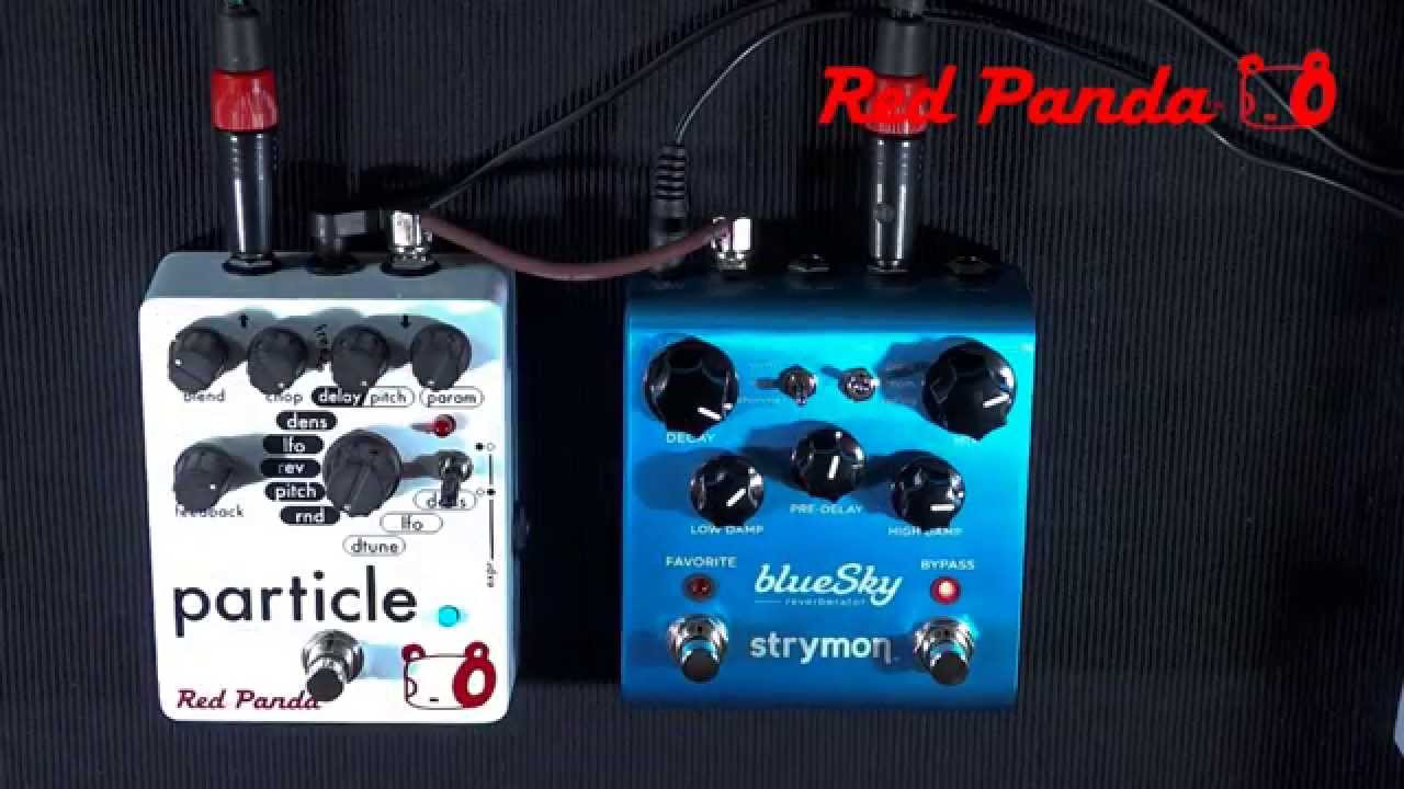 PERFECT CIRCUIT NEW Red Panda Particle 2 Granular Delay Pedal EFFECTS