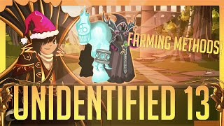 "=AQW= Get ""Unidentified 13"" FAST [Many Methods!]"
