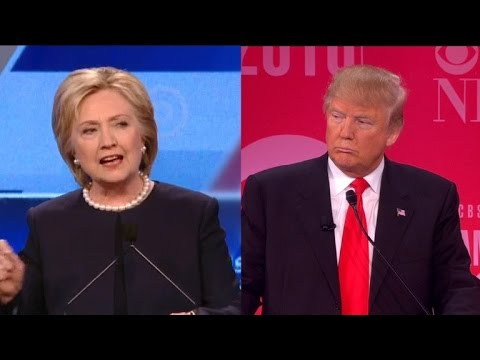 Trump v Clinton on the Economy Monday Night to Audience of Millions 1
