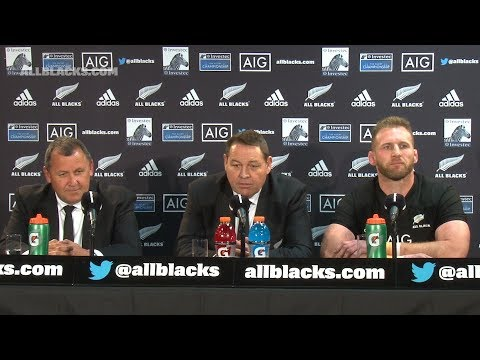 PRESS CONFERENCE: All Blacks defeat South Africa