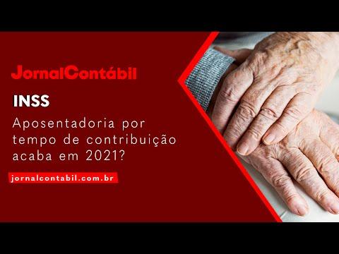 Aposentadoria por tempo de contribuição acaba em 2021?