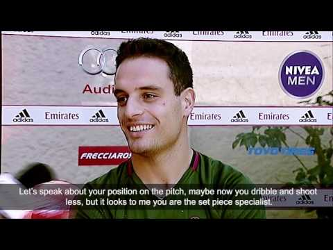 Giacomo Bonaventura's interview to Milan TV