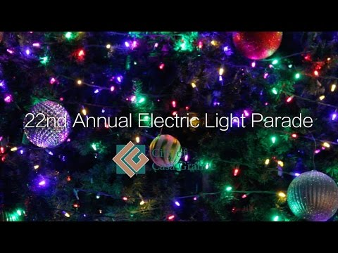 22nd Annual Electric Light Parade
