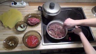 Готовим Лазанью в посуде ICook полезно и быстро